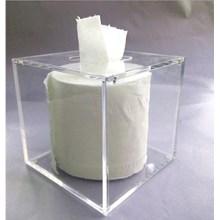 Tempat Tissue Kotak Akrilik