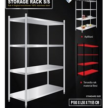 Storage Rack Slotted Board Type Model Knockdown