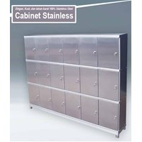 Locker Stainless 18 Laci