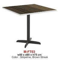 Jual Expo Foodcourt Table Type M-FT-03