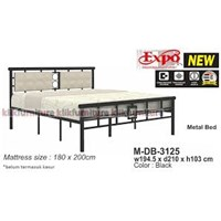 Expo Double Bed Metal Type M-DB-3125