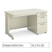 Jual Meja Kantor Chitose TKM-7012 W