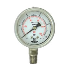 All Stainless steel Pressure Gauges