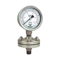 All stainless steel pressure gauge (diaphragm) 1