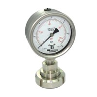 All stainless steel pressure gauge with Sanitary diaphragm seal 1
