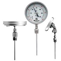 Stainless steel bimetal thermometer 1