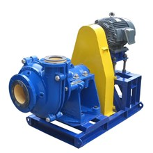 Split-case slurry pumps