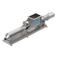 Hygienic progressing cavity pumps