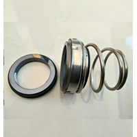 MECHANICAL SEAL RUBBER BELLOWS CONICAL SINGLE SPRING
