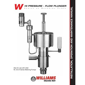 Wiliams Pump By PT. Sumber Teknik Indonusa