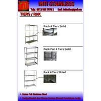 Rak Stainless Atau Tiers Rack Stainless Steel