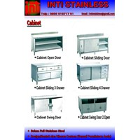 Meja Cabinet Stainless