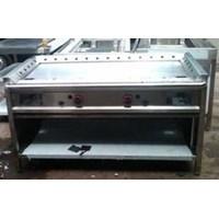 Distributor Kompor Teppanyaki Stailnless Steel Gas Griddle Custom Meja Teppanyaki  3