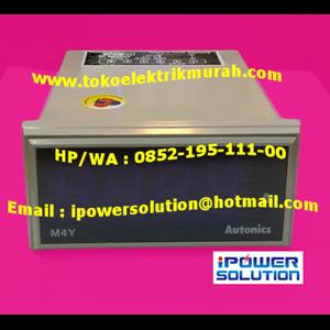M4Y-DV-4 4VA panel meter Autonics