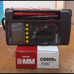 Digital Multimeter merk Sanwa tipe CD800a