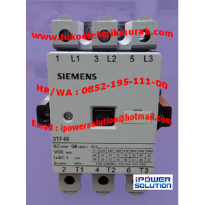 Kontaktor SIEMENS Tipe  3TF48 22-OXPO