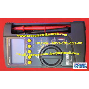 Multimeter Digital SANWA Tipe CD800a