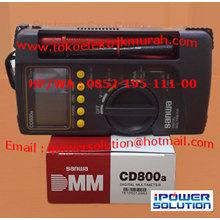 Multimeter Digital SANWA Tipe CD800a
