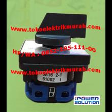 Sanzel Tipe SA16 2-1 Rotary Switch