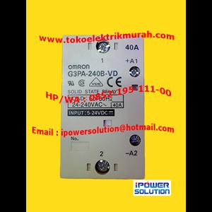 Dari OMRON Tipe G3PA-240B-VD Solid State Relay 1