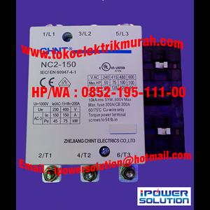 Tipe NC2-150 CHINT Kontaktor Magnetik