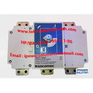Socomec Switch Disconnector Tipe SIRCO