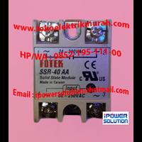 Distributor SSR FOTEK  Tipe  SSR-40 AA 3
