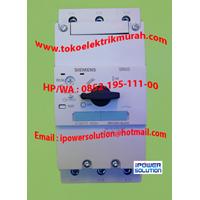 Distributor Siemens Tipe 3RV1041-4LA10 Circuit Breaker 3