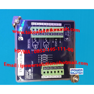 From  Earth Fault Relay   Type TM-8200s  DELAB 2