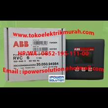 Tipe RVC 6   ABB  Power Factor Controller