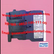 Tipe CU 38  TECO Kontaktor