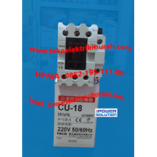 Kontaktor TECO Tipe CU-18