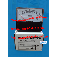 A&A  Panel Meter Rpm  Type Yh670