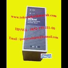 Mikro Tipe MX50 PHASE MONITORING RELAY