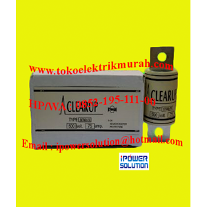 Clearup Tipe 50TAR-75 Fuse