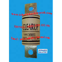 Clearup  Fuse  Tipe 50TAR-75