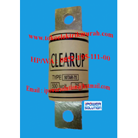 FUSE CLEAR UP Tipe 50TAR-75 1