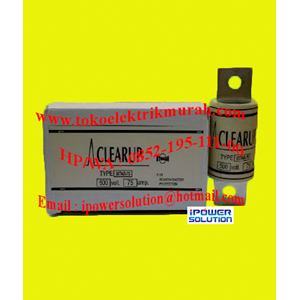 CLEAR UP Tipe 50TAR-75 FUSE