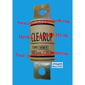 CLEAR UP FUSE Tipe 50TAR-75