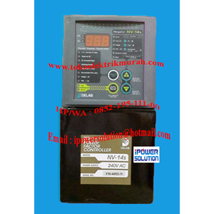 Power Factor Controller Delab Tipe NV-14s