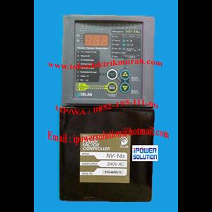 Tipe NV-14s Power Factor Controller Delab 240VAC