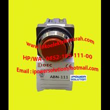 Tipe ABN111 10A  IDEC  Push Button