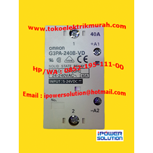 SOLID STATE RELAY / SSR  G3PA-240B-VD  40A OMRON