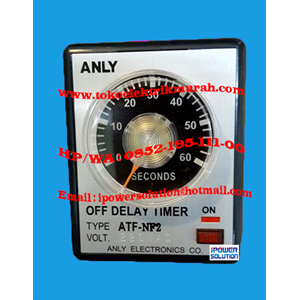 From Tipe ATF-NF2 Timer ANLY  0