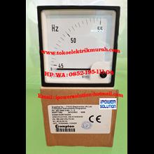 Tipe E24441SGRYAGAG Crompton Hz meter