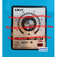 ACR-N Current Relay ANLY