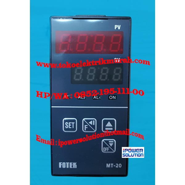 Temperature Controller  MT20-V FOTEK