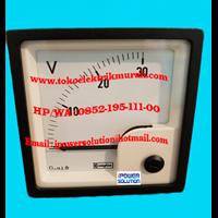 E243-01V-G-NL-NL Crompton Voltmeter
