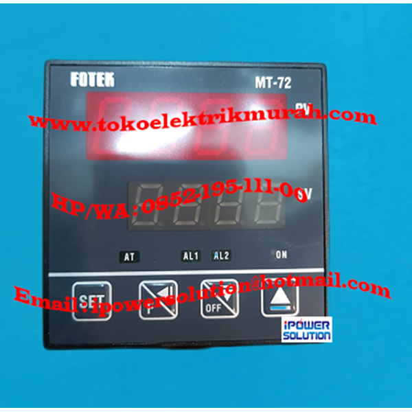 Temperature Controller MT72-R Fotek