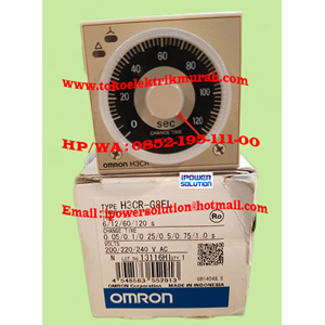 From Omron H3CR-G8EL 5A Timer  2
